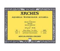 Альбом для акварели Arches крупнозернистий Arches Rough Grain 185 гр/м2 18x26 см 20 листов