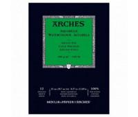 Альбом для акварели Arches холодной пресовки Arches Cold Pressed 300 гр/м2 21x29,7 см 12 листов