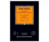Альбом для акварели Arches крупнозернистий Arches Rough Grain 300 гр/м2 14,8x21 см 12 листов