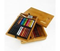 Набор пастели цветной Conte Colour - подарочный 31 предмет - 750175 арт 750175