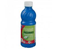 Краска гуашевая Redimix Lefranc 500 мл Первично синий