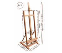 Мольберт студийный деревянный серия № 31В