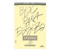 Альбом на спирали Canson для набросков, Bloc Para Esbozo 90 гр, A5, 50 листов