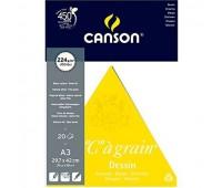 Альбом для эскизов Canson Ca Grain 224 гр, 20 листов, 0027-183 Canson