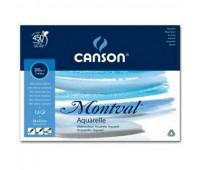 Блок для акварели Canson Montval 1-Bloc 300 гр, 24x32 см 12 листов 0807-319 арт 0807-319