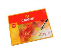 Бумага для акварели и акрила, блок Acrylic Cold pressed 400 гр, 36х48 см (10) 0807-410