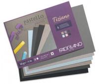 Бумага пастельная Canson Mi-Teintes 160 гр 50x65 см №101 Pale yellow Пастельно-жовтий арт 0321-274