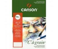 Canson альбом на спирали для эскизов, C a Grain 224 гр, A4 (30)
