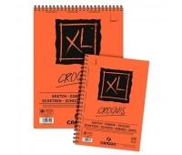 Альбом для набросков (на пружине) XL Sketch Pad 90g A4 120 листов, Canson Франция