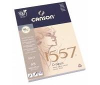 Альбом для рисунка Canson 1557 Croquis 120 гр A5 формат, 50 листов