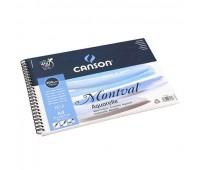 Canson альбом для акварелі, на спіралі Montval 300 гр, 24X32, см (12)