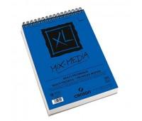 Canson альбом для акварелі, на спіралі XL Mix Media Medium  грrain 300 гр, A4 (30)