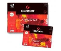 Альбом, блок для масла и акрила Canson Figueras Bloc 290 гр, 19x25 см (10)