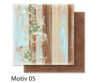 """Бумага Folia, дизайнерская Design Papers """"Autumn"""" Осінь 190 гр, 30,5x30,5 см №05 Motif 05 арт 10405"""