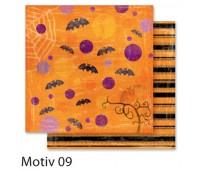 """Бумага Folia, дизайнерская Design Papers """"Autumn"""" Осінь 190 гр, 30,5x30,5 см №09 Motif 09 арт 10409"""
