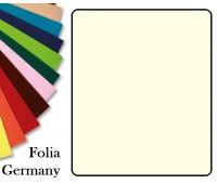 Fotokarton Folia, Бумага для дизайна размер 50х70 см №01 Жемчужно-Белая 300г/м2 Folia 20 листов