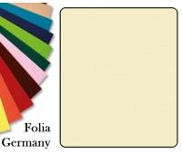 Fotokarton Folia, Бумага для дизайна размер 50х70 см №08 Бежевая 300г/м2 Folia 20 листов