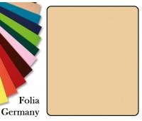 Fotokarton Folia, Бумага для дизайна размер 50х70 см №10 Желто-коричневая 300г/м2 Folia 20 листов