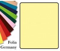 Fotokarton Folia, Бумага для дизайна размер 50х70 см №11 Насыщенно-желтая 300г/м2 Folia 20 листов