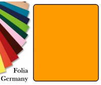 Fotokarton Folia, Бумага для дизайна размер 50х70 см №16 Темно-желтая 300г/м2 Folia 20 листов