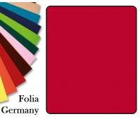 Fotokarton Folia, Бумага для дизайна размер 50х70 см №18 Красная 300г/м2 Folia 20 листов