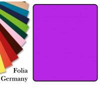 Fotokarton Folia, Бумага для дизайна размер 50х70 см №21 Темно-розовая 300г/м2 Folia 20 листов