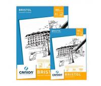 Canson блок паперу для ескізів  Bristol 180гр, 21x29,7 см (20)