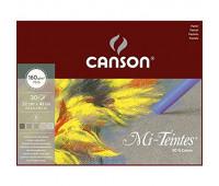 Canson блок паперу для пастелі Mi-Teintes сірі відтінки 160гр, 24x32 см (30)