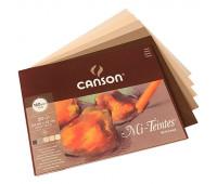 Canson блок паперу для пастелі Mi-Teintes земельні відтінки 160гр, 24x32 см 30 арт 0030-144