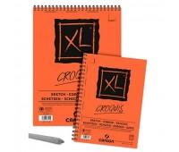 Canson альбом для нарисів, на спіралі XL Sketch Pad 90 гр, 30X30 см, 120 арт 0787-117