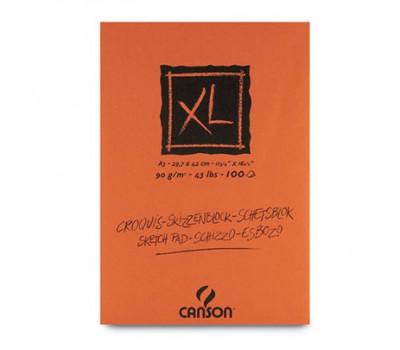 Canson блок паперу для нарисів, XL Sketch Bloc 90 гр, 21x29,7 см, A4 (100)