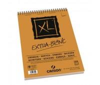 Canson альбом для нарисів, на спіралі XL Extra White 90 гр, 21x29,7 см, A4 120 арт 0787-500