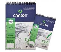 Canson альбом для нарисів на спіралі 1557 Croquis 120 гр, A5 50 арт 4127-417