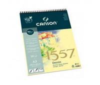 Canson альбом для нарисів на спіралі 1557 Dessin 180 гр, A4 30 арт 4127-423