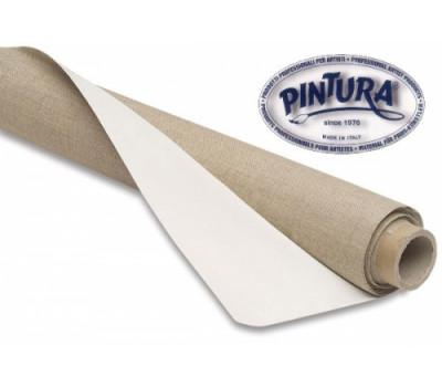Холст в рулоне 1,5х10 метров Pintura Италия хлопок средн зерно 340 г TPC1508V