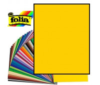 Картон Folia Photo Mounting Board 300 гр, 70x100 см, №14 Banana yellow Бананово-жовтий арт 68010_14