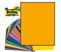 Картон Folia Photo Mounting Board 300 гр, 70x100 см, №16 Geep yellow Темно-жовтий арт 68010_16