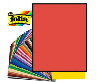 Картон Folia Photo Mounting Board 300 гр, 70x100 см, №20 Hot red Темно-червоний арт 68010_20