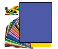 Картон Folia, Photo Mounting Board 300 гр, 50x70 см №36 Ultramarine (Ультрамариновий)