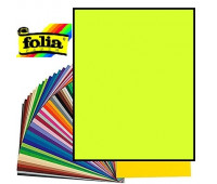Картон Folia, Photo Mounting Board 300 гр, 50x70 см №49 Lime Лайм арт 6149