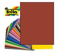 Картон Folia Photo Mounting Board 300 гр, A4, №74 Red brown (Червоно-коричневий)