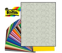 Картон Folia Photo Mounting Board 300 гр, A4, №81 Iron grey (Сірий з ворсинками)