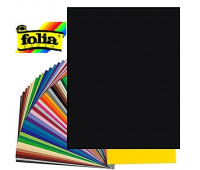 Картон Folia Photo Mounting Board 300 гр, 50x70 см №90 Black Чорний арт 6190