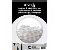 Альбом для графики A4 Reeves Drawing & Sketching Pad 150 гр, 50 листов