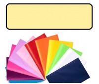 Бумага оберточная Folia Tissue Paper 20 гр, 50x70 см (13), #12 Lemon yellow (Лимонно-жовтий)
