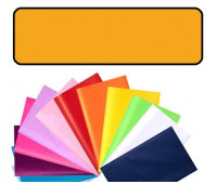 Бумага оберточная Folia Tissue Paper 20 гр, 50x70 см (13), #18 Мaize yellow (Кукурудзяно-жовт