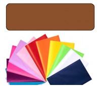 Бумага оберточная Folia Tissue Paper 20 гр, 50x70 см (13), #70 Brown (Коричневий)