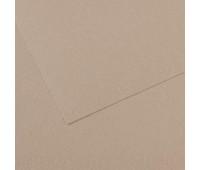 Бумага пастельная Canson Mi-Teintes 160 гр 50x65 см №122 Flannel gray Фланелевий сірий арт 0321-364