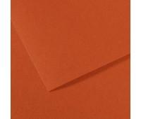 Бумага пастельная Canson Mi-Teintes 160 гр 50x65 см №130 Red earth Червона земля арт 0321-374