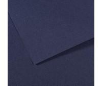 Бумага пастельная Canson Mi-Teintes 160 гр 50x65 см №140 Indigo blue Індіго арт 0321-414